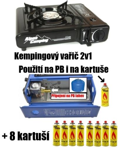 Plynový vařič na PB